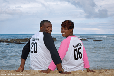 Paradise Cove Beach Anniversary Portrait Photography