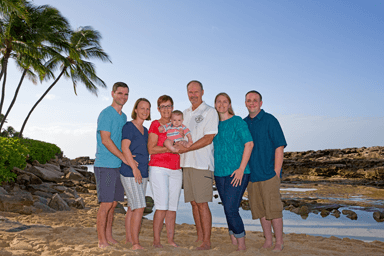 Paradise Cove Beach Family Photography