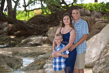 Paradise Cove Beach Family Portrait Photographers