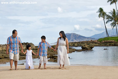 Paradise Cove Beach - Oahu Family Photos