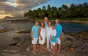 Family Photographer Near Disney Aulani Resort Koolina Oahu Hawaii