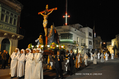 Good Friday Procession at Mosta Malta