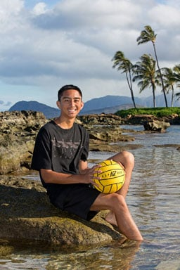 Senior Portraits Paradise Cove Beach Oahu