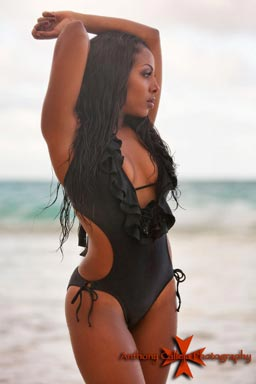 Swimsuit Photography Waimanalo Beach Oahu Hawaii