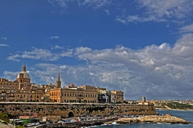 THE CAPITAL CITY VALLETTA