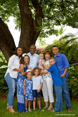 Oahu family portrait photography waikiki
