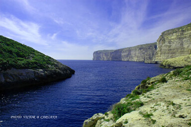 Xlendi Cliffs Gozo