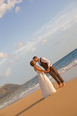 Wedding Portrait Photography - Yokahama Beach, Oahu